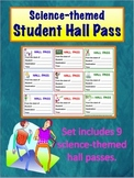 Science Themed Student Hall Pass