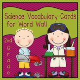 Science Vocabulary Cards - Second Grade (Science Fusion)