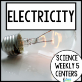 Science Weekly Five Stations- Electricity