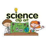 Science clip art set