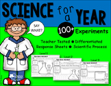 Science for a Year {60+ Hands-on Teacher Tested Experiments}