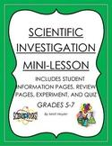 Scientific Investigation Mini Lesson Packet