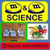 Scientific Method Inquiry Activity M&M's Experiment Matter