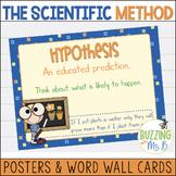 Scientific Method Posters & Word Wall Words Pack