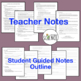 Scientific Method PowerPoint with Notes for Teacher and Student