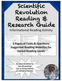 Scientific Revolution Reading & Research Guide - Informati