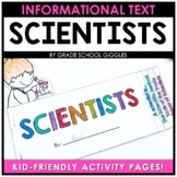 Scientists Flip Flap Book: A Book With Tabs