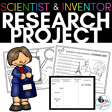 Scientist and Inventor Research Project: Interactive and P