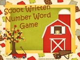 Scoot Written Number Word
