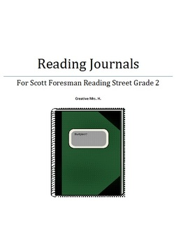 Scott Foresman Reading Street Journal Grade 2