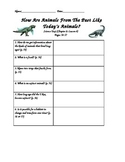 Scott Foresman- Science- Grade 3- Ch. 2:How Animals Live-