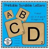 Scrabble Letters!