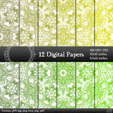 Scrapbook Cover Digital Textile Decorative Book Scrapbook