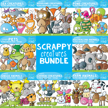 Scrappy Creatures Bundle