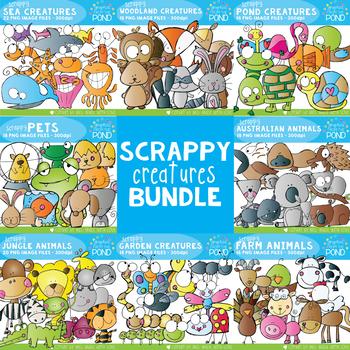 Scrappy Creatures Bundle
