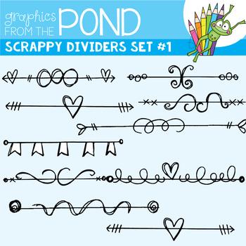 Scrappy Dividers Set 1