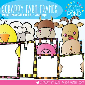 Scrappy Farm Frames