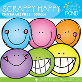 Scrappy Happy Clipart Set