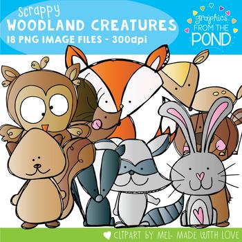 Scrappy Woodland Creatures