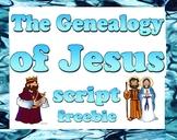 Script: Geneology of Jesus (Mother's Day)