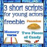 Scripts: 3 Short Christian Drama Scripts for Very Young Actors