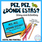 Sea Animals E-Book in Spanish
