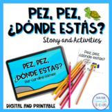 Sea Animals E-Book in Spanish