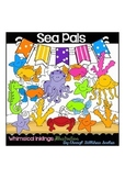 Sea Pals Clipart Collection
