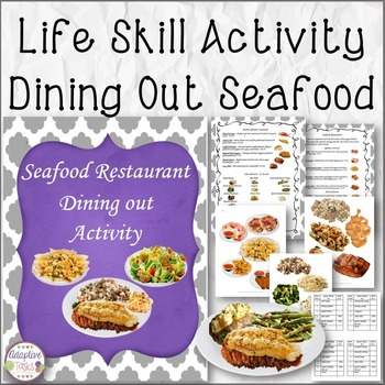 Seafood Restaurant Dining Out Activity