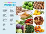 Seasonal Ingredient Charts for Classroom Decor or Use with