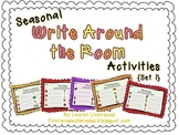 Seasonal Write Around the Room Activities {Set 1}
