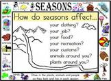 Seasons for Social Studies!