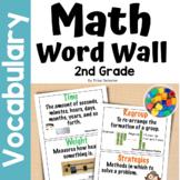 Second Grade Common Core Math Vocabulary