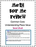 Second Grade: Common Core Math for Me Review Place Value