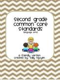 Second Grade Common Core Standards User-Friendly