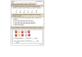 Second Grade Math Assessment Common Core Standards
