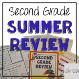 Second Grade Summer Skills Review Packet