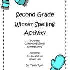 Second Grade Winter Spelling Activity