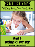 Second Grade Writing Workshop:  Unit 1 {Introduction to Wr
