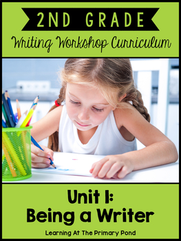 Second Grade Writing Workshop:  Unit 1 {Introduction to Writing Workshop}