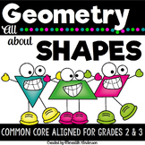 Geometry for Second & Third Grade, Common Core Aligned Unit, STEM