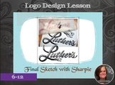 Secondary Art: Elemental Logo Design Lesson