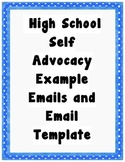 Self-Advocacy Email Template