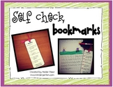 Self Check Bookmarks