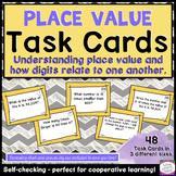 Self-Checking Common Core Task Cards for 4th Grade - 4.NBT