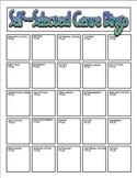 Self-Selected Reading Genre Bingo (4th & 5th grade)