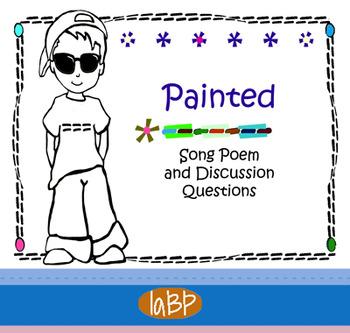 Social Skills poem and questions - self esteem, self respect