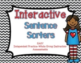 Sentence Sorters for Statements, Questions, Commands, and