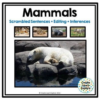 Sentence Sorting, Editing and Inferences : Zoo Animals