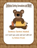 Sentence Sorting Sensations and More
